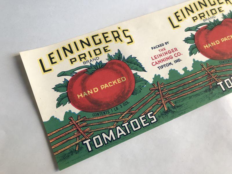 画像1: LEININGER'S PRIDE トマト ラベル (1)