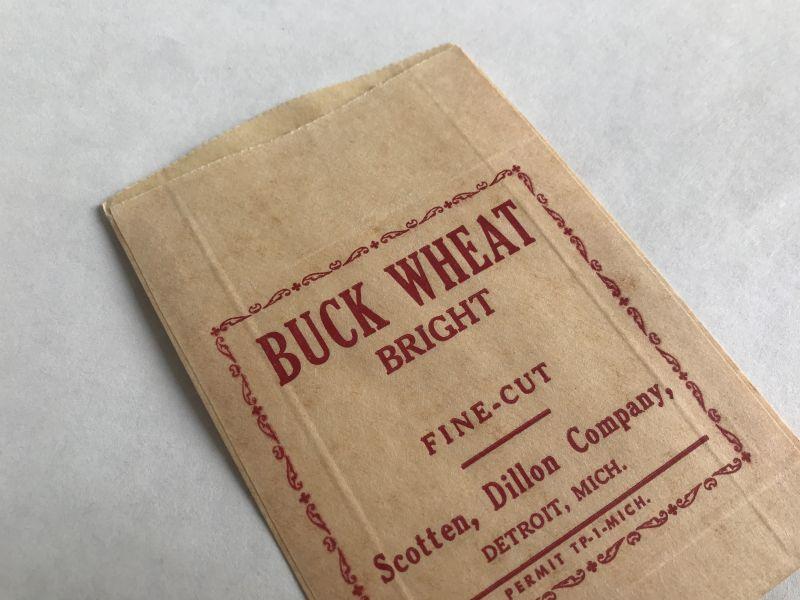 画像1: BUCK WHEAT BRIGHT タバコ紙パッケージ (1)