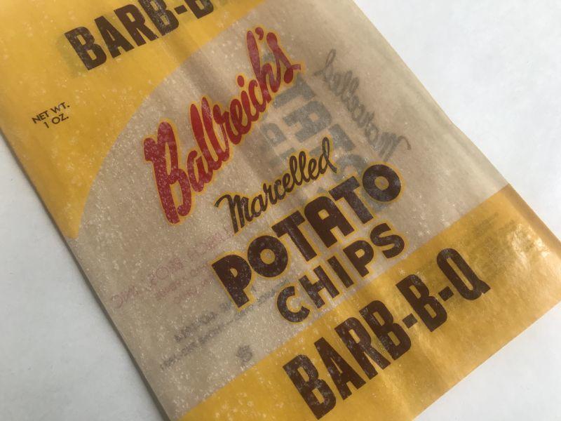 画像1: Ballreich's ポテトチップ袋 BBQ (S) (1)