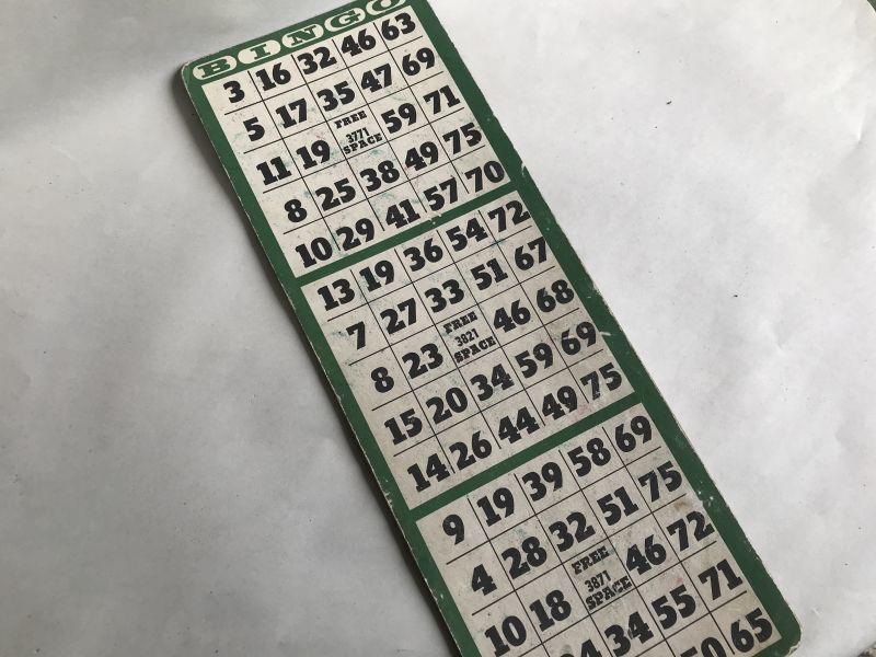 画像1: USEDビンゴカード3連LONG (1)