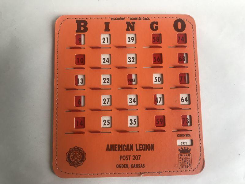 画像1: USEDビンゴカード窓付 (1)