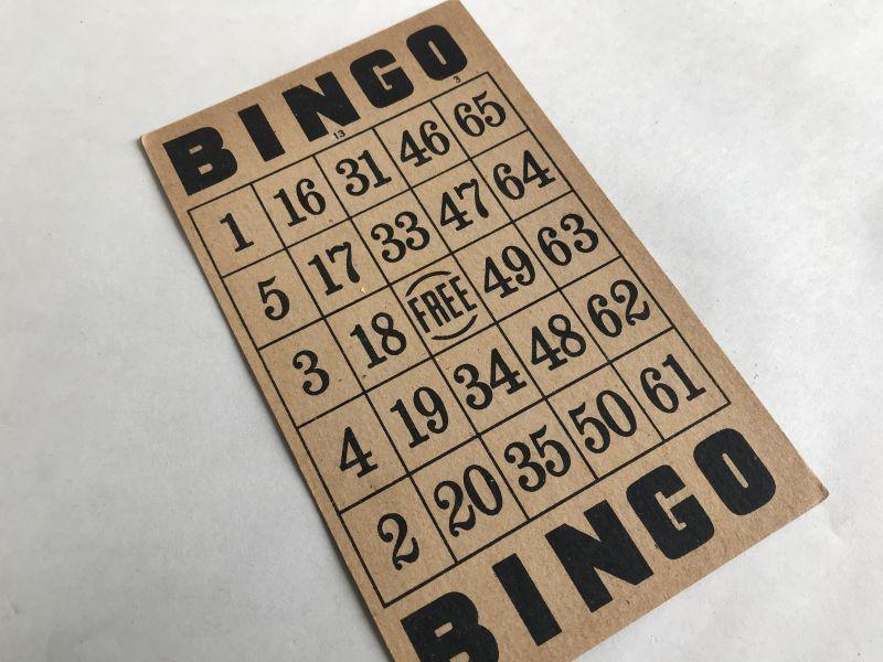 画像1: ビンゴカード (1)