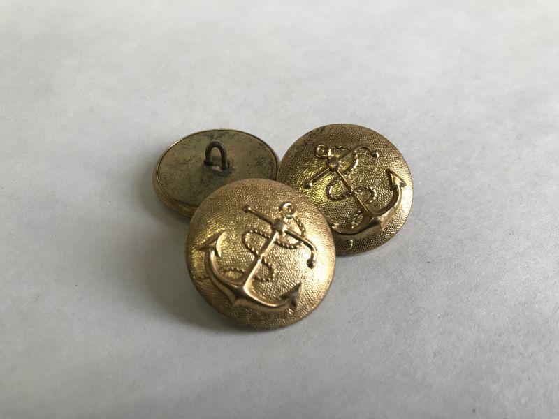 画像1: イカリマーク ボタン (1)