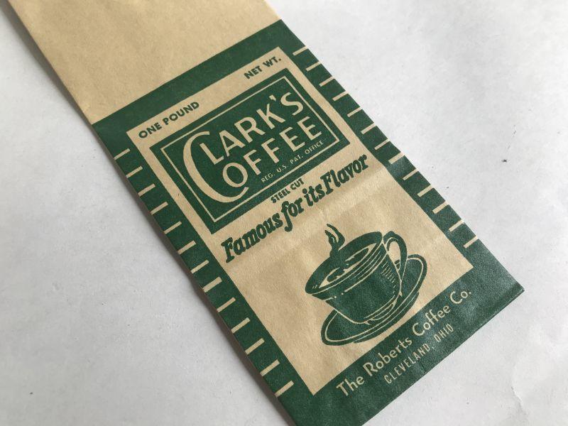 画像1: CLARK'S COFFEE 袋 (1)