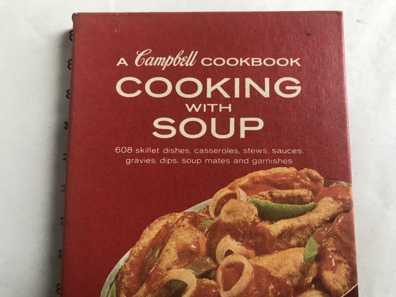 画像1: 1969年 Campbell COOKBOOK COOKING WITH SOUP (1)