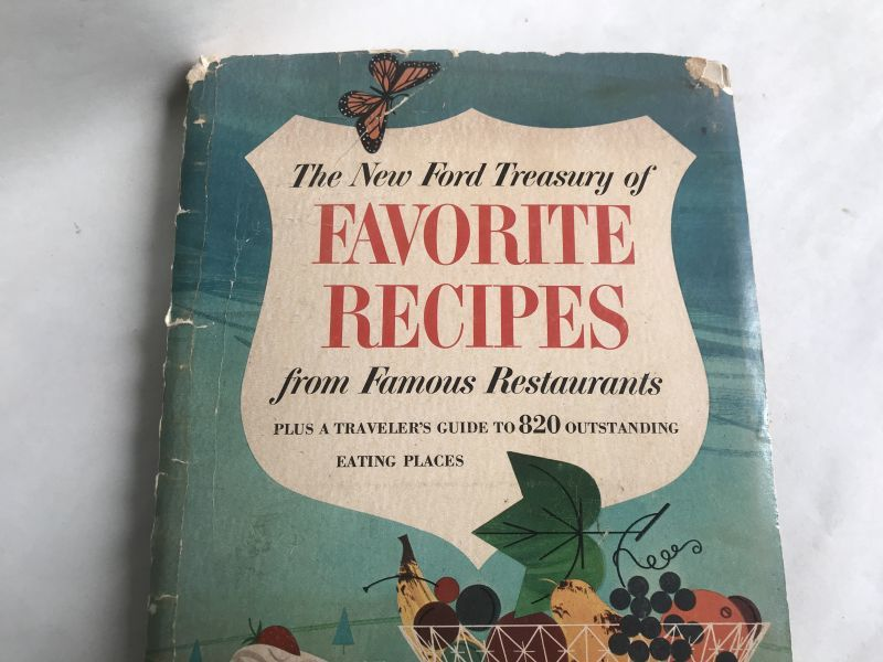 画像1: 1963年 Ford FAVORITE RECIPES (1)