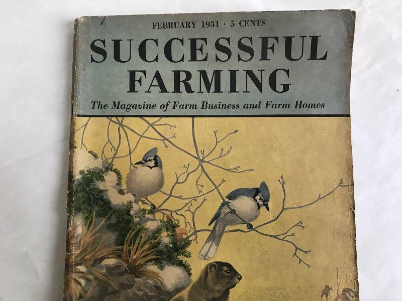 画像1: 1931年 SUCCSESSFUL FARMING 雑誌 (1)