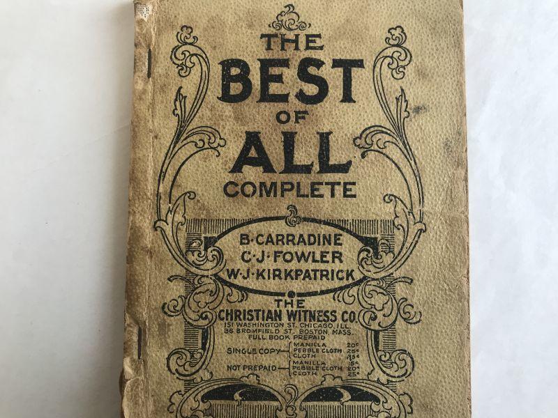 画像1: 1891年 楽譜本 THE BEST OF ALL COMPLETE (1)