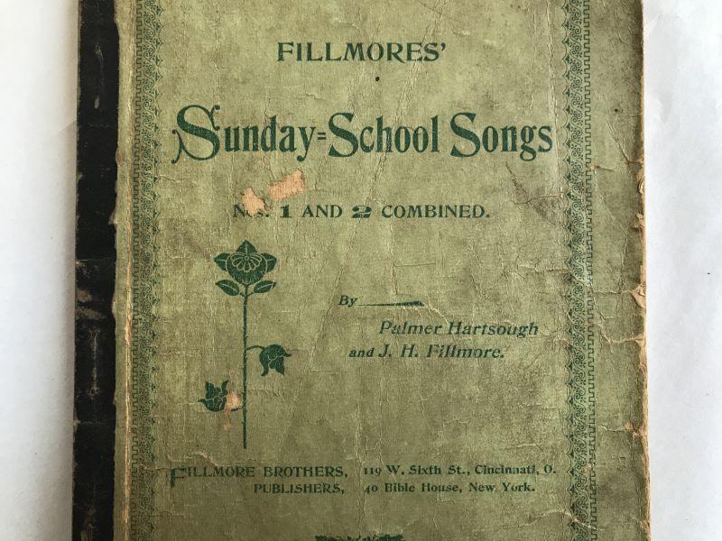 画像1: 1900年 楽譜本 SUNDAY SCHOOL SONGS (1)