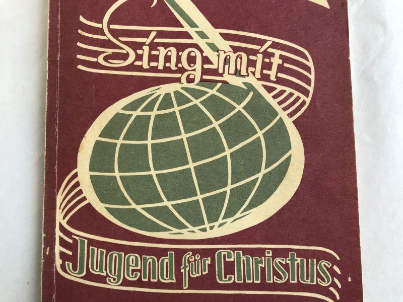 画像1: 1955年 楽譜本 SING MIT JUGEND FUR CHRISTUS (1)