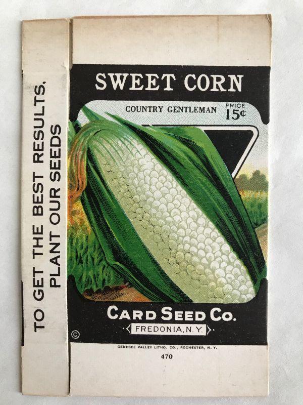 画像1: BOX 1920年代 SWEET CORN  SEED PACKAGE  (1)