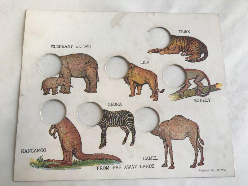 画像1: 1912年 知育玩具 パズル (1)