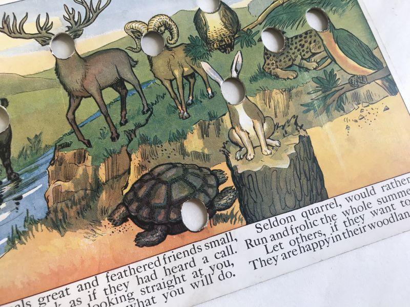 画像1: 1910年代  知育玩具 パズル (1)