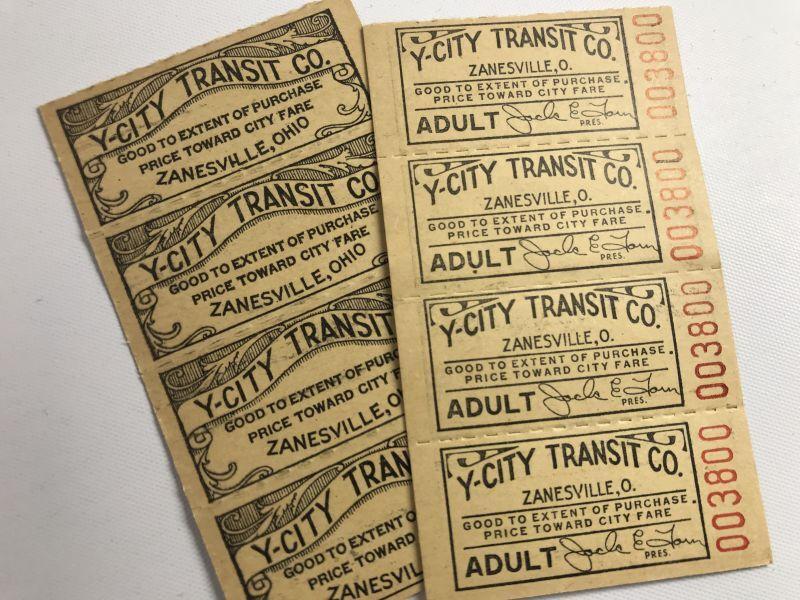 画像1: Y-CITY TRANSIT  4枚綴り (1)