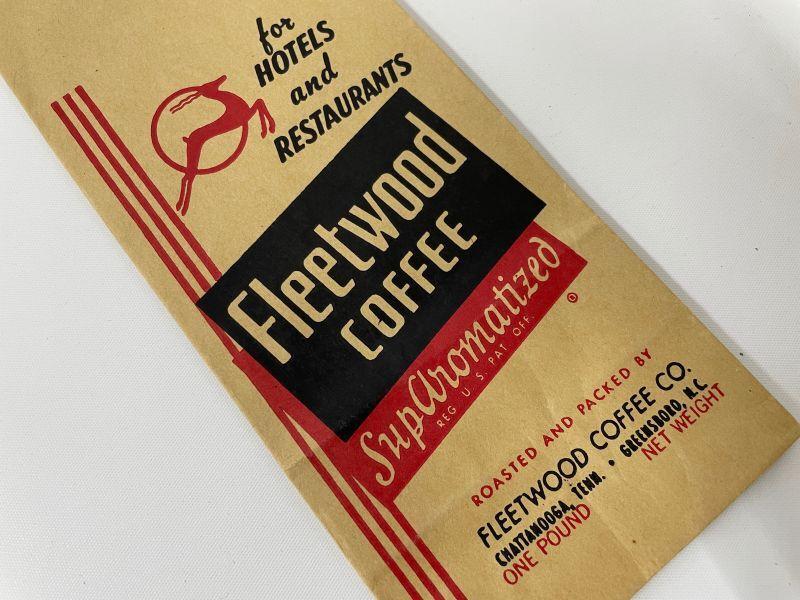 画像1: Fleetwood COFFEE 袋 (1)