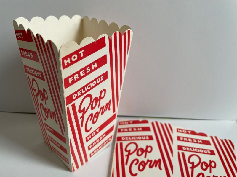 画像1: (5枚セット)POP CORN PACKAGE (1)