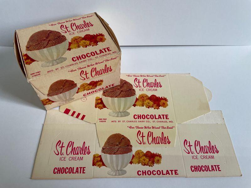 画像1: St.Charles CHOCOLATE ICE CREAM PACKAGE (1)
